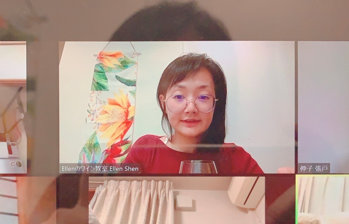 zoomワイン会大絶賛 Ellenのオンラインサロン無料体験月ご報告